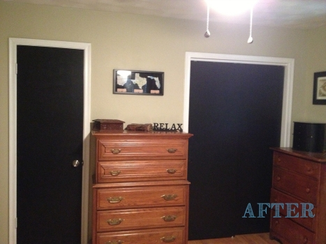 bedroom doors after