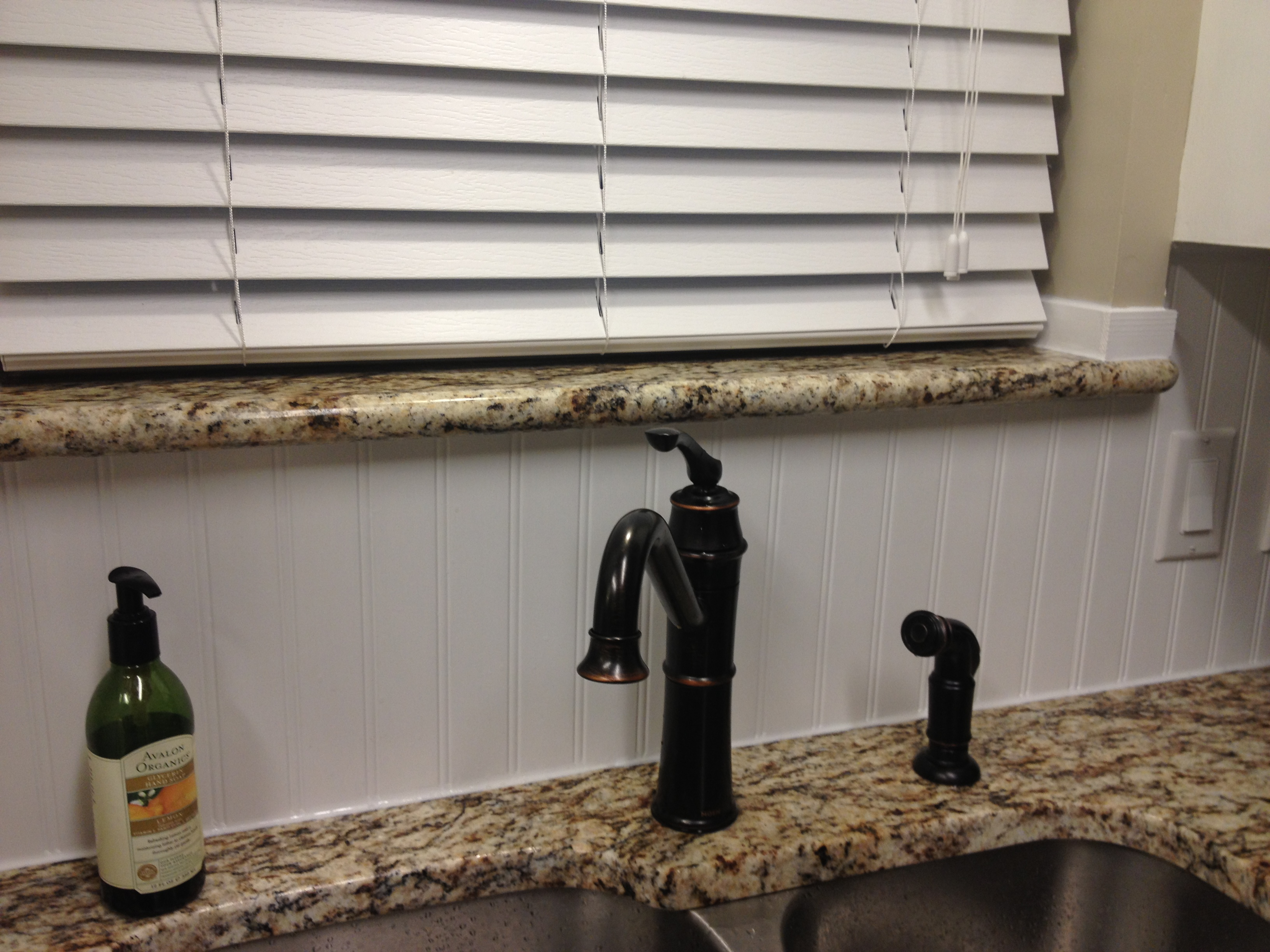 we have a backsplash and it is wonderful simply wonderful we re