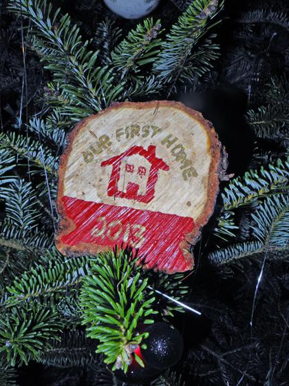 Handmade First Home Ornament