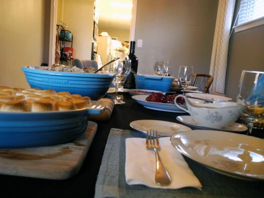 Thanksgiving Table Closeup